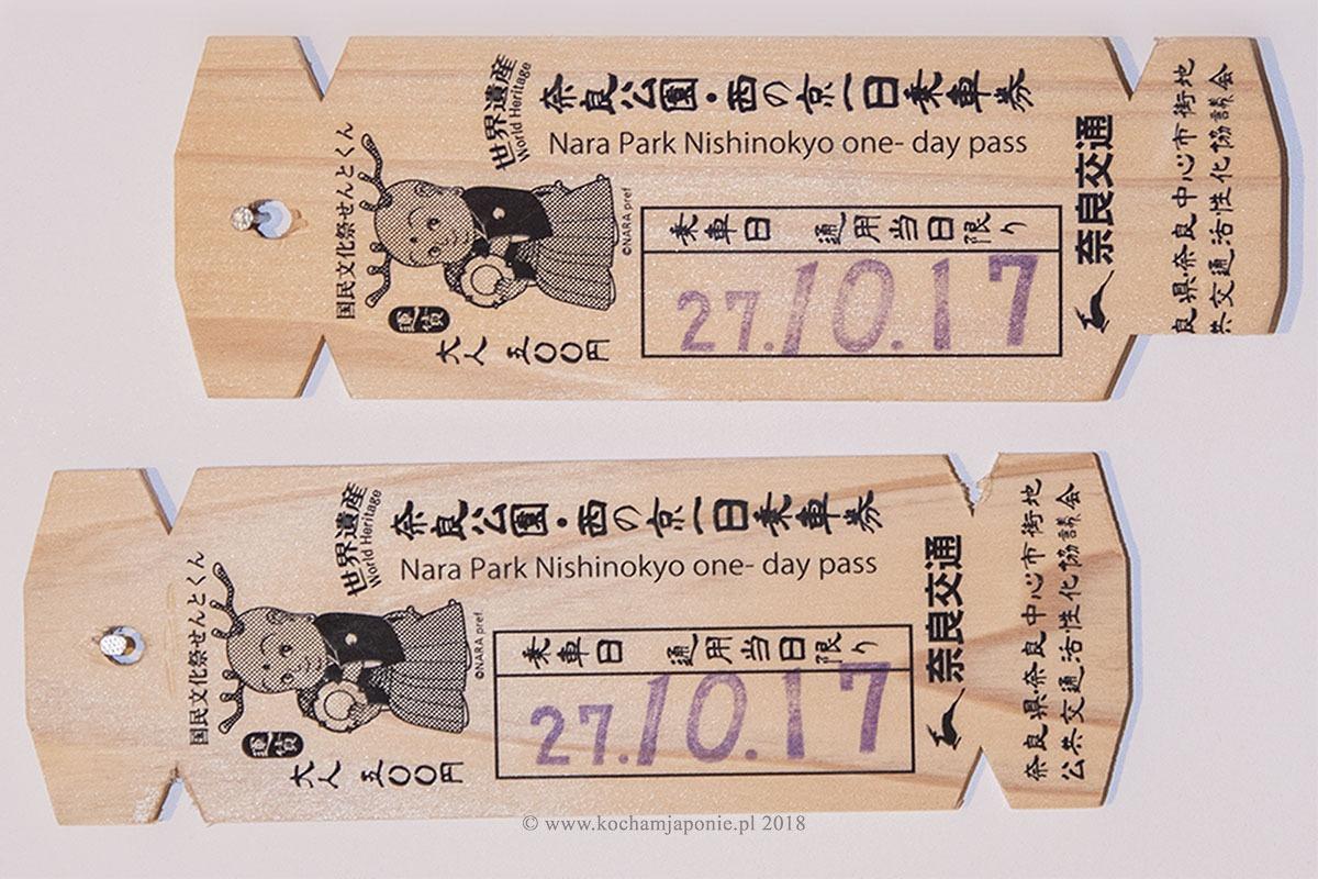 Data w japońskim formacie na bilecie