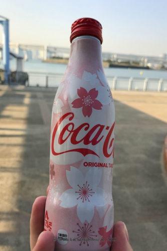 Coca-Cola w wersji na hanami
