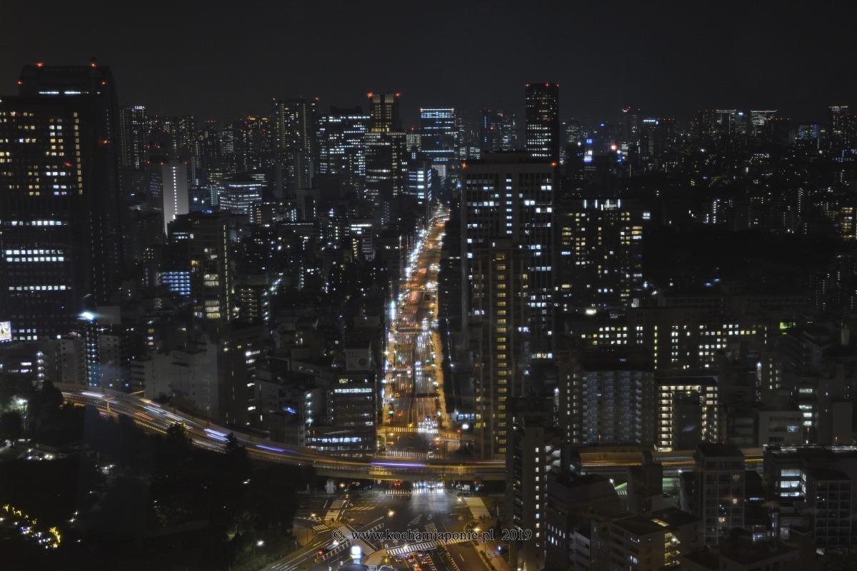 Tokyo nocą