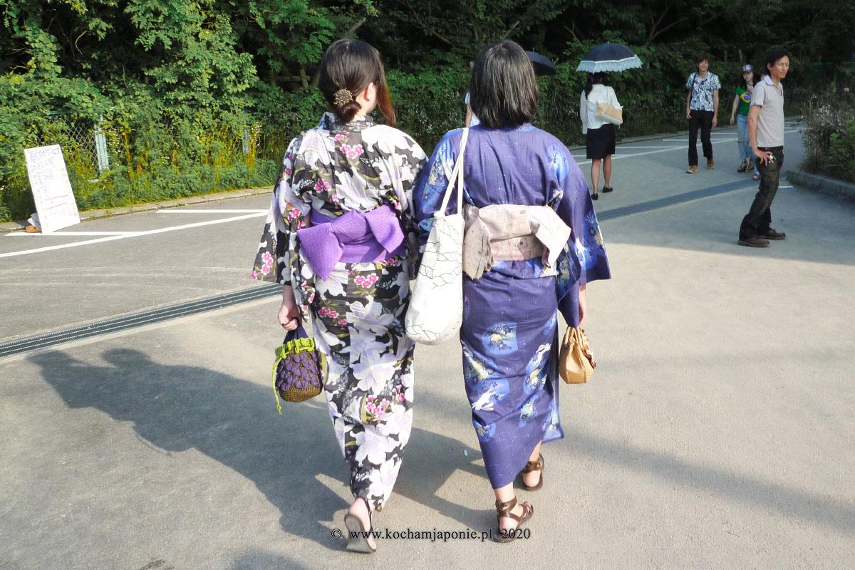 Letnie kimono yukata